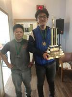 SBS 1st Place - Matt Zu, 2nd Place Zhao-Yu Tan